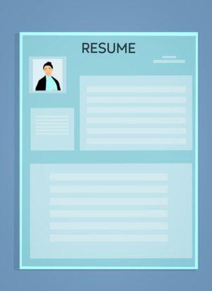 Curriculum Vitae, Cv, Resume Modèle, Application