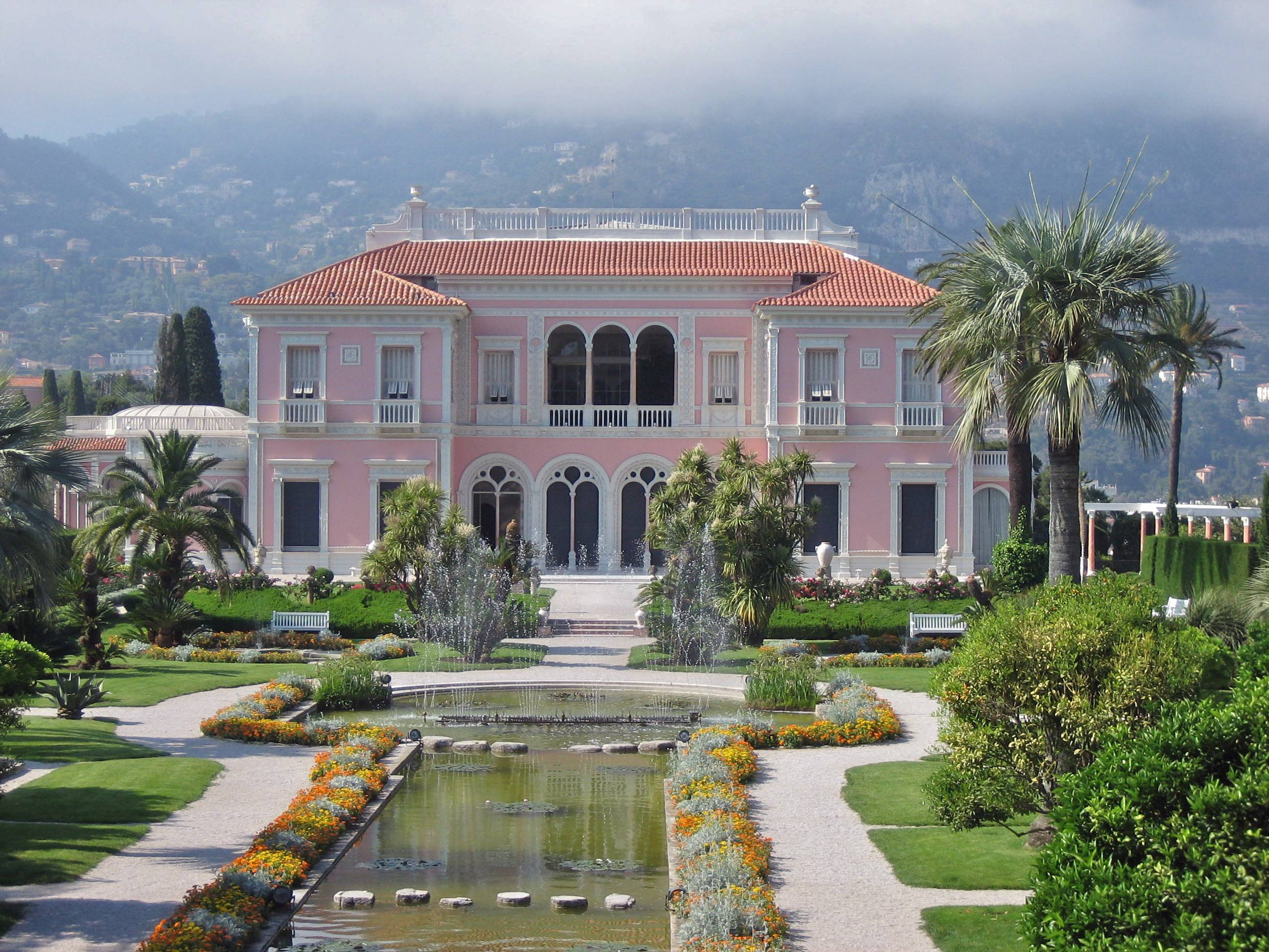 Villa Ephrussi de Rothschild sur la Côte d'Azur